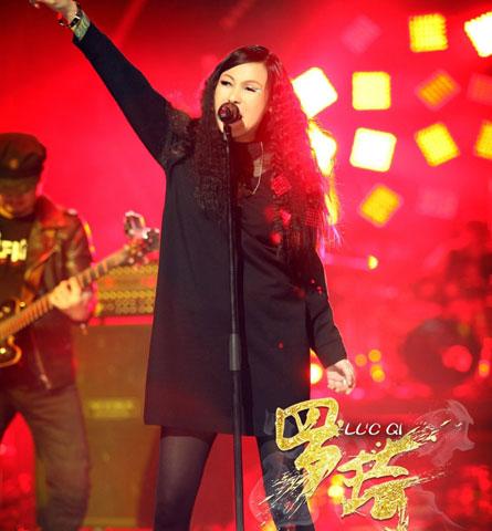 我是歌手第二季罗绮:中国摇滚第一女声