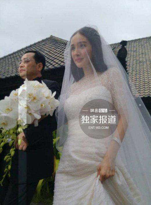 刘恺威杨幂婚礼直播_刘恺威杨幂婚礼开始 新娘挽父亲出场_金鹰网