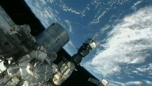 国际空间站外部备用电脑出故障