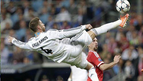 欧冠半决赛首回合 皇马主场1:0拜仁
