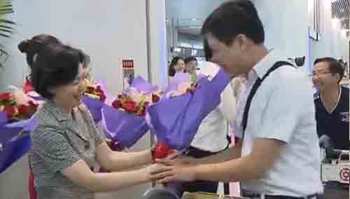 第六批援疆教师返湘