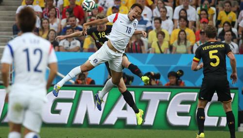 韩国0-1比利时 亚洲4队全垫底