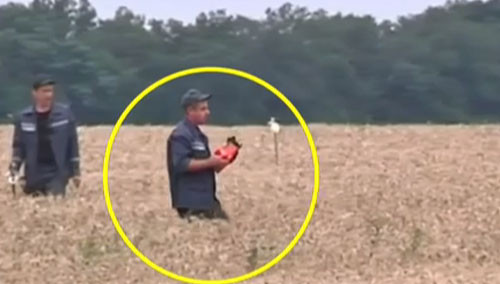 疑似找到MH17黑匣子视频公布 官方:欲交给国际组织专家