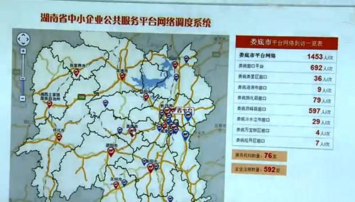 省中小企业公共服务网络平台开通