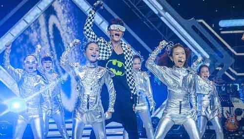 汪东城冬瓜班级秀《我的舞台》