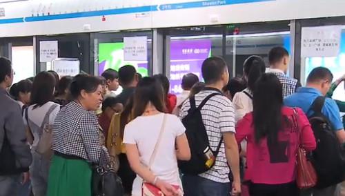 长沙地铁2号线望城坡站至火车南站已恢复正常运营
