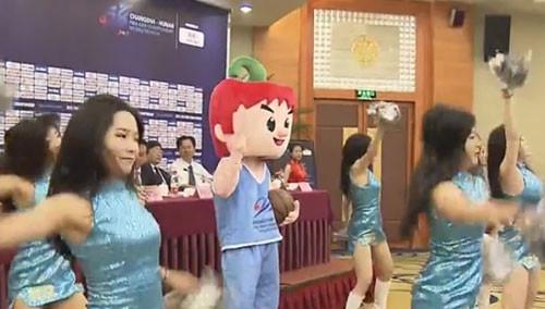 """第28届亚洲男子篮球锦标赛9月21日长沙开赛 吉祥物名叫""""辣仔"""" 彰显湖南热情与火辣"""