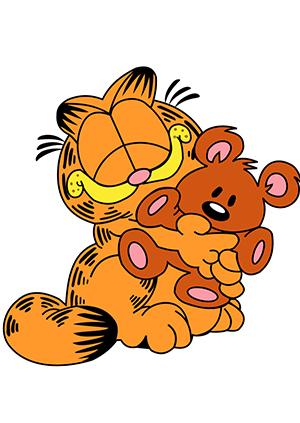 超级活泼可爱的加菲猫回来啦!