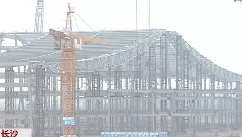 国际会展中心明年底运营 面积超现有三家展馆