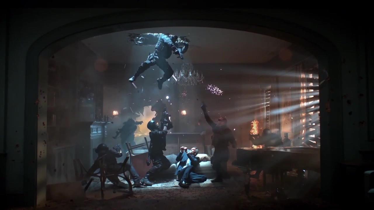 游戏CG放映室20151125期:《彩虹六号:围攻》真人宣传片