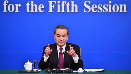 外交部部长王毅谈南海问题