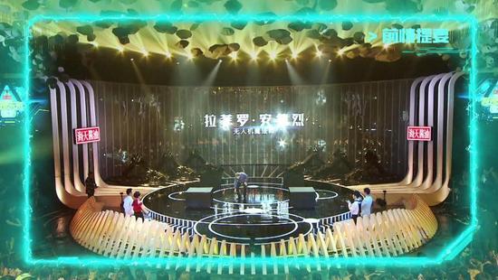 影谱科技将海天酱油品牌灯光箱植入到舞台画面中